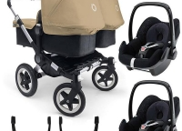 2014 Bugaboo Donkey Duo Twins stroller complete set